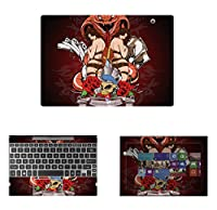 Decalrus - Protective Decal Skin skins Sticker for Toshiba Satellite Click 10 LX0W (10.1 Screen) case cover wrap TOsatallitLX0W-132