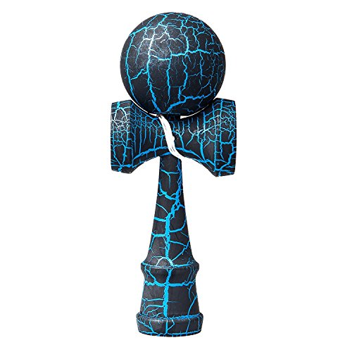 Splink けん玉 子供用剣玉 ストリート 剣玉伝統な木製玩具 ひび割れ 手足の協調性 反応訓練に有益 (1)