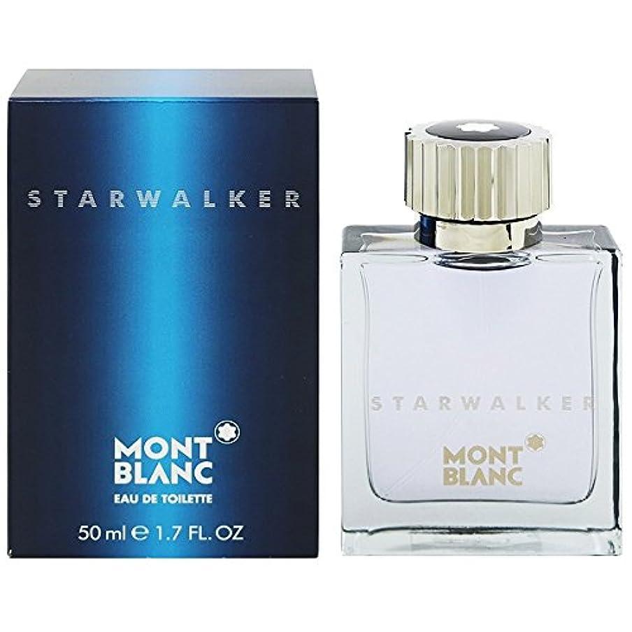 誰もフィヨルドアイドルモンブラン スターウォーカーオードトワレ50ml MONT BLANC STAR WALKER EDT