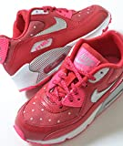 NIKE AIR MAX 90 PRINT PS RED PINK ナイキ エア マックス 90 レッド ピンク キッズ 子供靴 スニーカー 12.5C(18.5),-