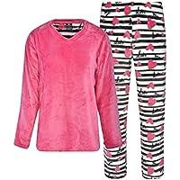 Donna L'oren Women's Coral Fleece Pajamas
