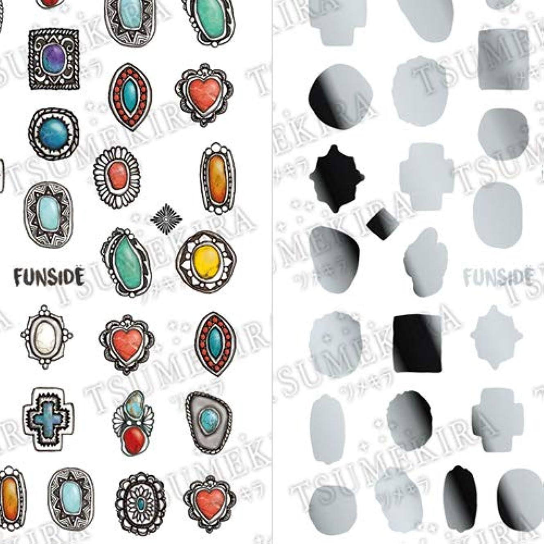 割り当てます潤滑する低下TSUMEKIRA(ツメキラ) ネイルシール FUNSIDEプロデュース Indian Jewelry SG-FNS-101 1枚