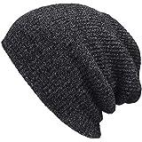 Fullsexy 针织帽 针织帽 双重编织 轻薄 素色 透气性好 秋冬 男女兼用
