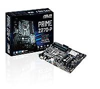 ASUS PRIME Z270-P LGA 1151インテルATXマザーボード - ブラック