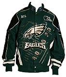 Philadelphia Eagles 2009スコアボードコットンツイルジャケット L