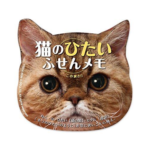 猫のひたい 付箋メモ マディ