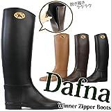 Dafna ダフナ ブーツ レディース レインブーツ レインシューズ ジッパー Winner Zipper
