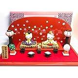 ハローキティ 雛人形 吉徳大光 陶器 1999年製 フィギュア ひな祭り