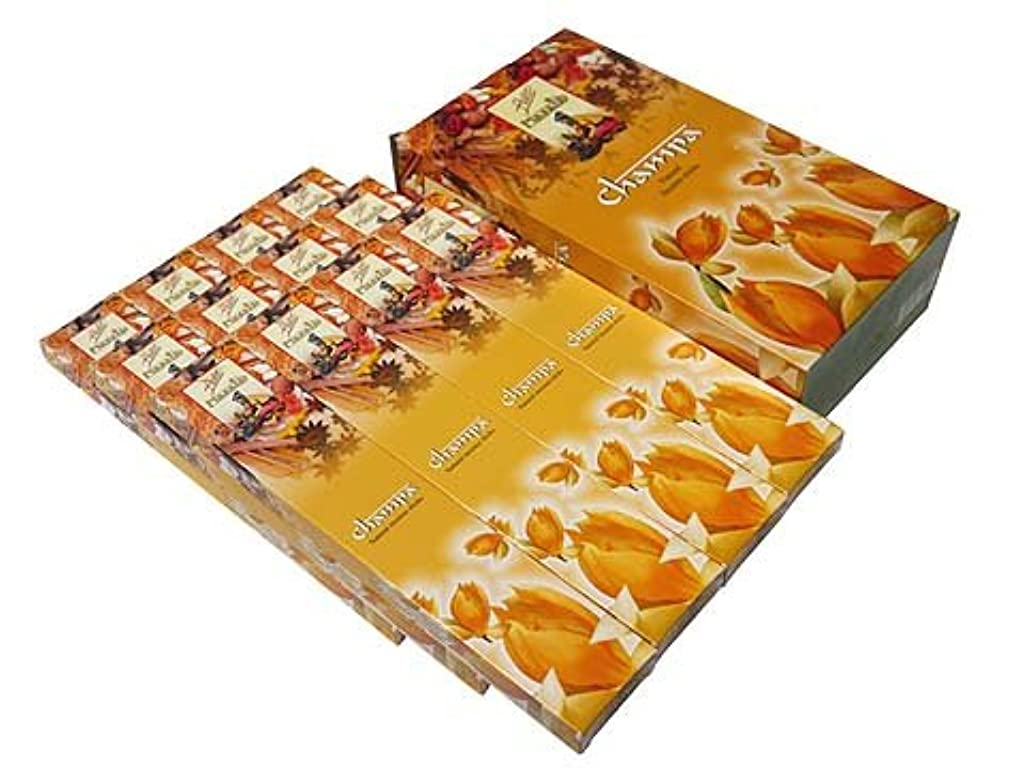 十代の若者たち期間囲いFLUTE(フルート) チャンパマサラ香 マサラスティック CHAMPA MASALA 12箱セット
