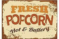 冷蔵庫用マグネット Fridge Magnet Retro Popcorn