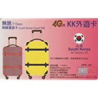 【KK】韓国 Wスタンバイカード(SK Telecom・KT)4G-LTE/3G 7日間 無制限 データ通信 SIMカード Korea W・Stand-by 外遊カード
