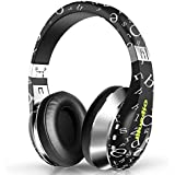 Bluedio A (Air) Bluetooth Headphones Over Ear with Carrying Case, 3D Stereo Lightweight Stylish Wireless Headset ,Foldable,Easy to Carry,Fashionable,20 Hrs Playtime,Surround Sound for PC/Cell Phones (Black)