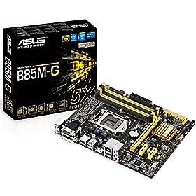 ASUSTeK Intel B85搭載 マザーボード LGA1150対応 B85M-G 【MATX】