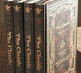 Amateras アンティーク クラシック 日記帳 レトロ風 魅力的 洋書 ノート A5 サイズ 24.5×18cm レトロ アクセサリー 日記 メモ 本 雑貨 ノート アイディア ブック 塔 落書き