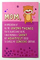 母の日カードFunny ( Mom、感謝のすべてThe Loving Things。。。) by American Greetings EA