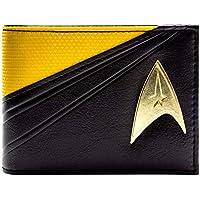 Star Trek Starfleet Command Suit Yellow ID & Card Bi-Fold Wallet