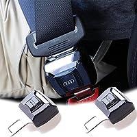 Audi 延長 シートベルトアウディ シートベルト高品質MUFENGKAJP シートベルト 自動車 シートバックル 簡単に取り付け Audi (アウディ) 専用