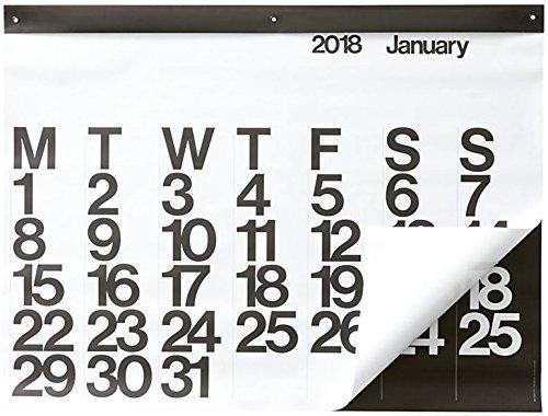 RoomClip商品情報 - 2018 Stendig Wall Calendar [並行輸入品]