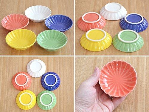 テーブルウェアイースト 豆皿 菊の花 小皿5枚セット
