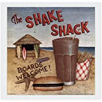 Shake Shack by David Carter Brown–10x 10インチ–アートプリントポスター LE_480531-F8989-10x10