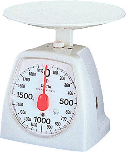 タニタ アナログクッキングスケール 2kg/10g ホワイト...