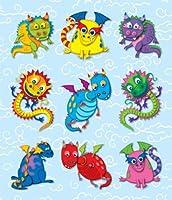 Carson Dellosa Dragons Prize Pack Stickers (168040) [並行輸入品]