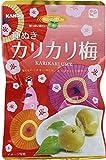 カンロ 種ぬきカリカリ梅 38g