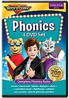 Phonics 4 DVD Set by Rock 'N Learn: Complete Phonics Program with 81 Printable Worksheets [並行輸入品]