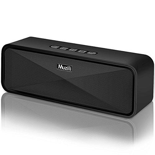 Arbily Bluetooth ワイヤレス スピーカー 18ヶ月品質保証 重低音とデザイン性に優れた マイク搭載 高音質