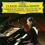 Italian Concerto, BWV 971 – Toccata, BWV 911 – Duets, BWV 802-805 – English Suite, BWV 811