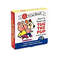 Learn to Read with Tug the Pup and Friends! Box Set 2: Levels Included: C-E (My Very First I Can Read)