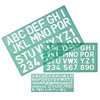 Linex 10mm/20mm/30mm Stencil Set - Green (Set of 3)