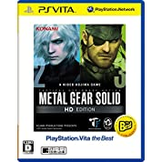 METAL GEAR SOLID HD EDITION PlayStation (R) Vita the Best 【Amazon限定特典】メタルギアサヴァイブPC壁紙 配信 付