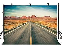 lylycty 10x 7ft Highway Backdrop Wide Boundless Highway写真背景とStudio写真バックドロップProps lynan196