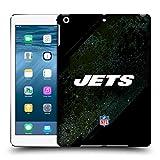 オフィシャル NFL ブラー ニューヨーク・ジェッツ ロゴ ハードバックケース iPad Air (2013)