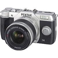 PENTAX デジタルミラーレス一眼 Q10 ズームレンズキット [標準ズーム 02 STANDARD ZOOM] シルバー Q10 LENSKIT SILVER 12163