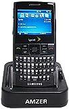 Amzer Desktop Cradle with Extra Battery Charging Slot for Samsung Blackjack SGH-I607 - Black [並行輸入品]