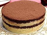 神戸スイーツ ティラミスショコラ ホール 4号 3-4人分 (チョコレートケーキ バースデーケーキ 誕生日ケーキ お中元 お歳暮 洋菓子)