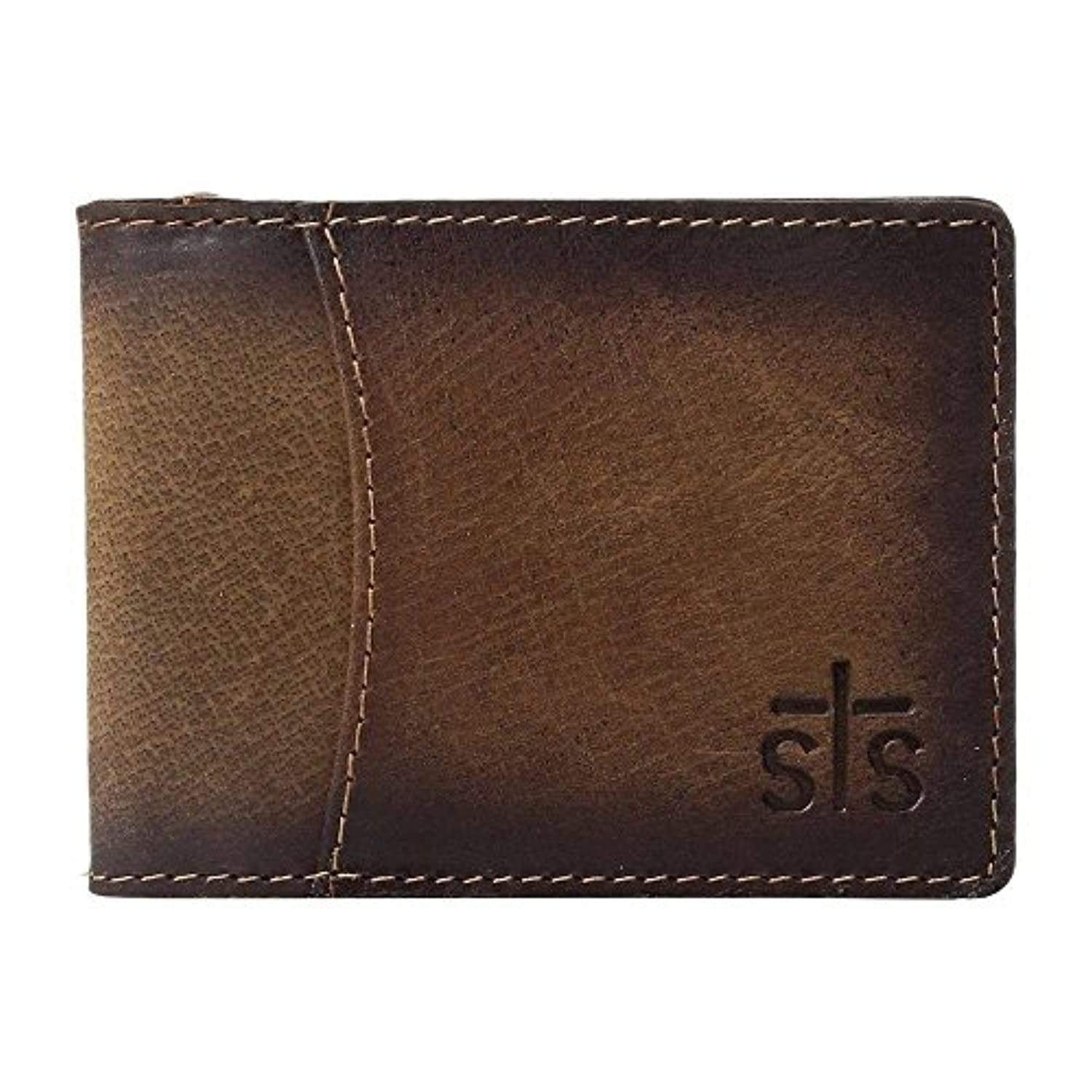 (STSランチウェア) STS Ranchwear メンズ マネークリップ The Foreman Hidden Money Clip Wallet [並行輸入品]