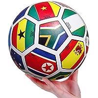 MyToy 2pcバウンドインフレータブルボールスポーツトイカラフルThe National Flag教育玩具ボールfor Babyボールおもちゃ8.5