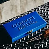 GORDON MILLER 小物収納 小物ケース 小物入れケース 小物入れ 卓上 整理箱 メタルケース M ブルー