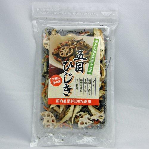 【千代の一番】五目ひじき 最高級 天然 国産 乾燥 海産物 無添加 35g(約3人前)