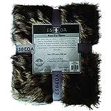 Esbeda Faux Fur Throw Vintage Fox