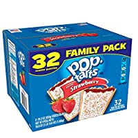 Pop-Tarts, Frosted Strawberry, 32 Count, 58.61 Ounce by Pop-Tarts
