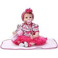 Decdeal リボーンドール 幼児 赤ちゃん 人形 女の子 PPボディ