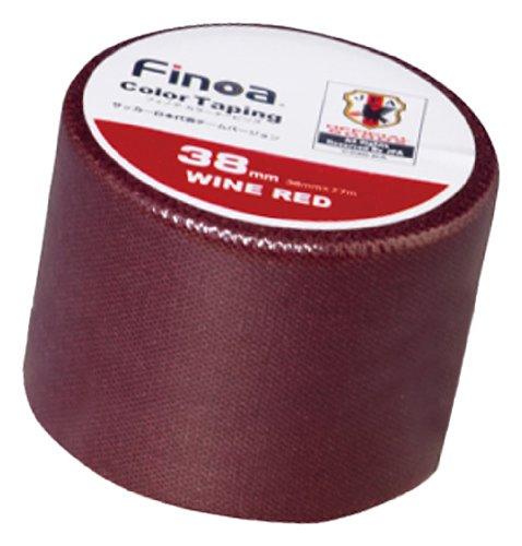 Finoa(フィノア) カラーテーピング サッカー日本代表チームバージョン ワインレッド (3.8cm×7.7m×1P) 1663