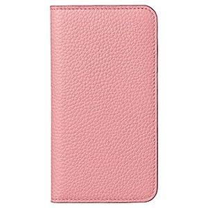 HAKUBA iPhone8/iPhone7 ケース (4.7インチ) 手帳型 fineseed 熟練の財布職人仕立て 高級牛革製 ピンク PC-LCIP7PK