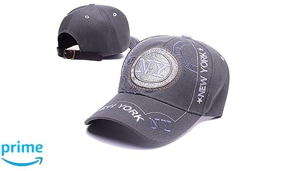 17fdec01f470f Amazon | グレー/gray スポーツ ロゴ カジュアル 帽子 男女兼用 フリーサイズ 登山 ジョギング ギフト キャップ 野球帽 (Free,  グレー) | キャップ 通販