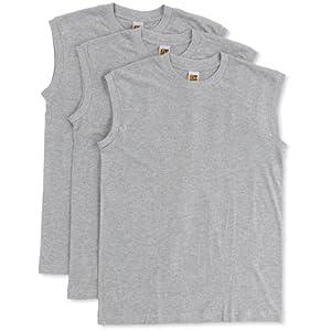 (グンゼ)GUNZE サーフシャツ G.T.HAWKINS 綿100% 3枚組 HK15183 NG グレーモク M