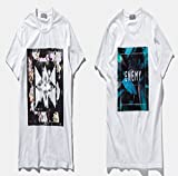 (アルファム)Alpham 半袖 Tシャツ イラスト ボタニカルプリント カットソー botanical print